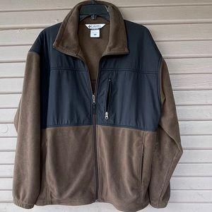 Men's Columbia Fleece Coat